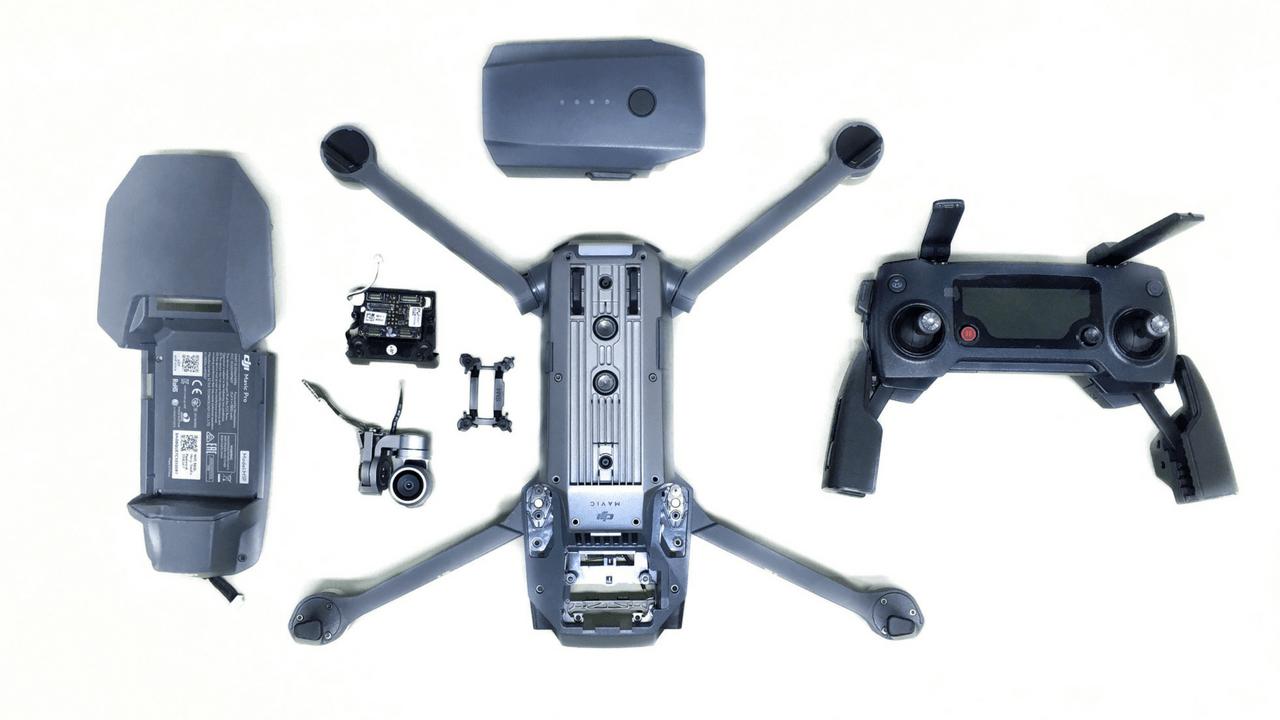 Ремонт дронов Hubsan Zino 2