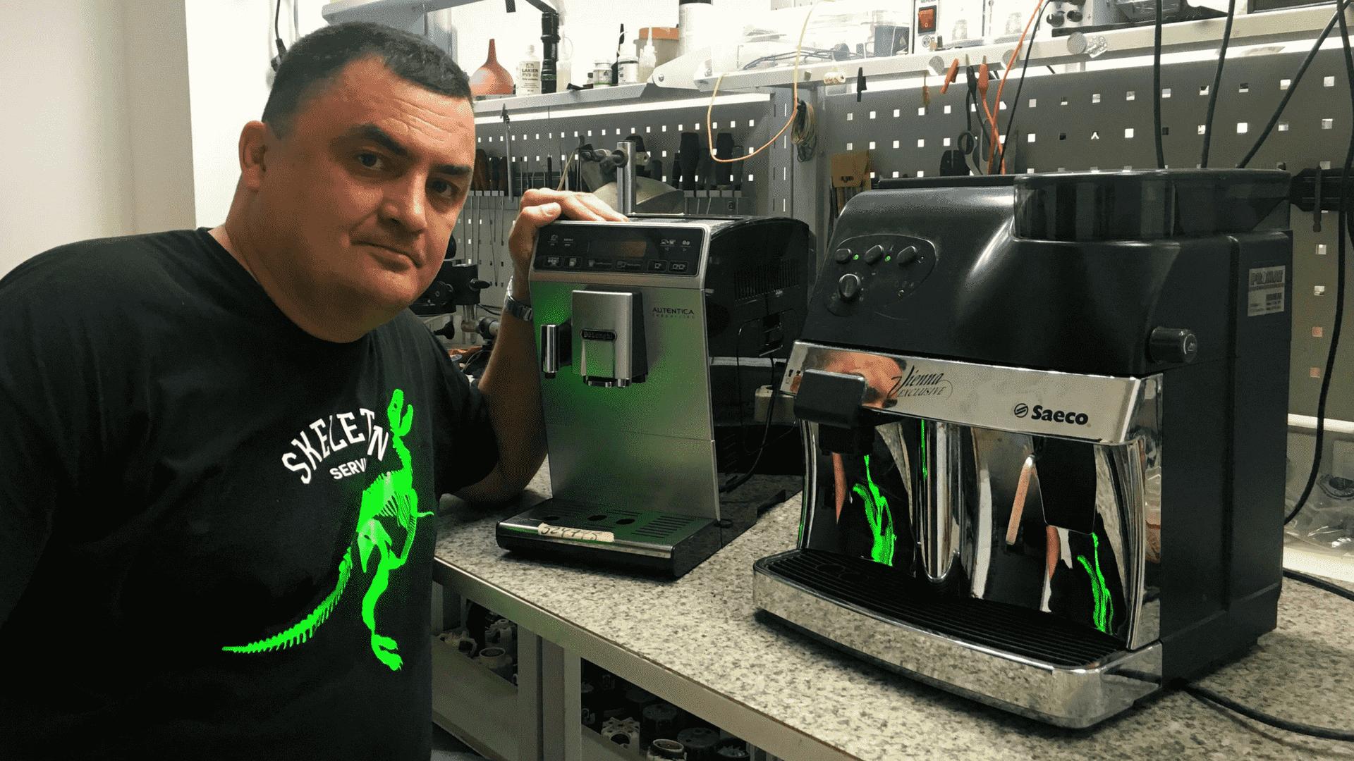 Ремонт кавомашин Gaggia
