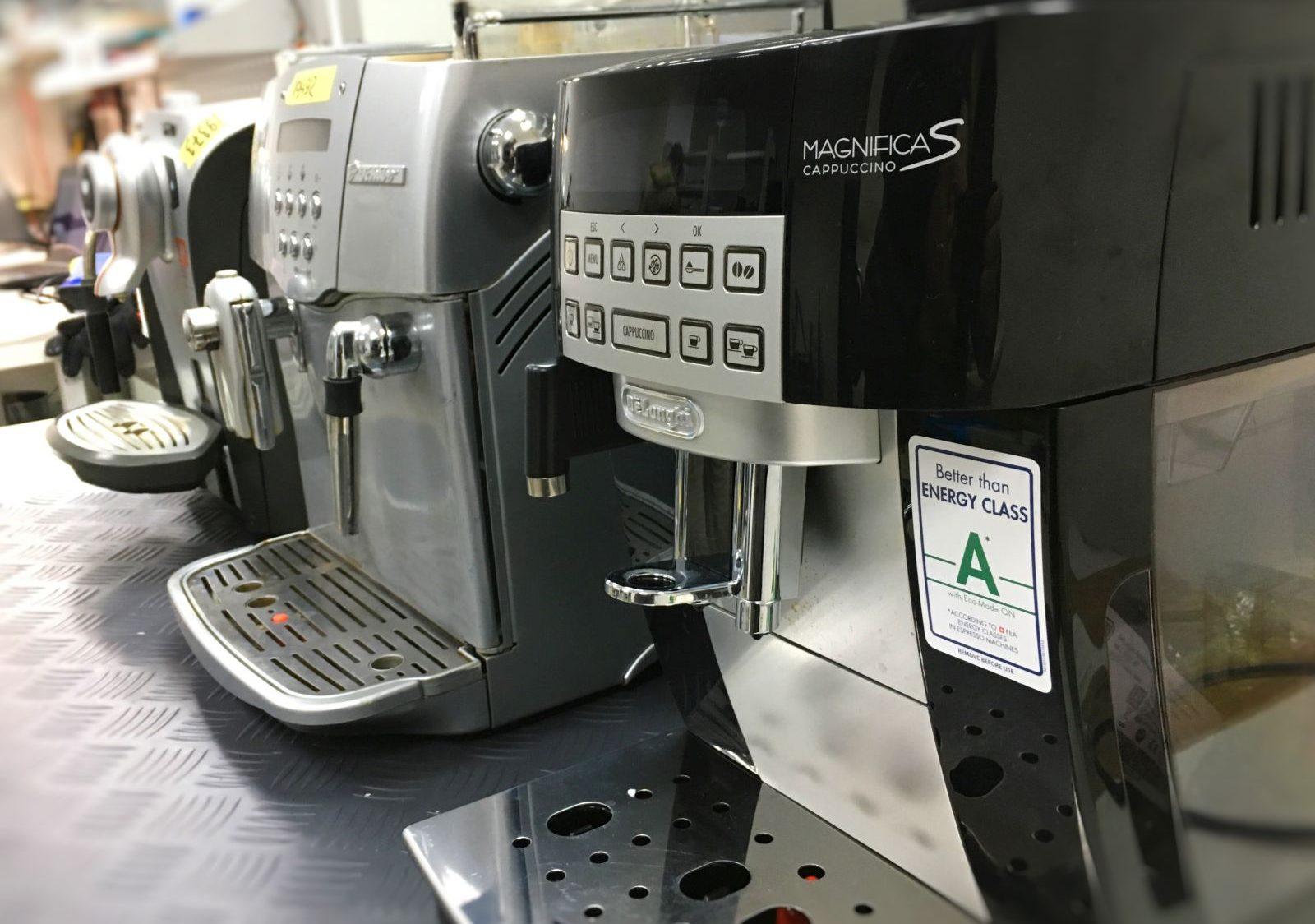 Ремонт кавомашин Delonghi