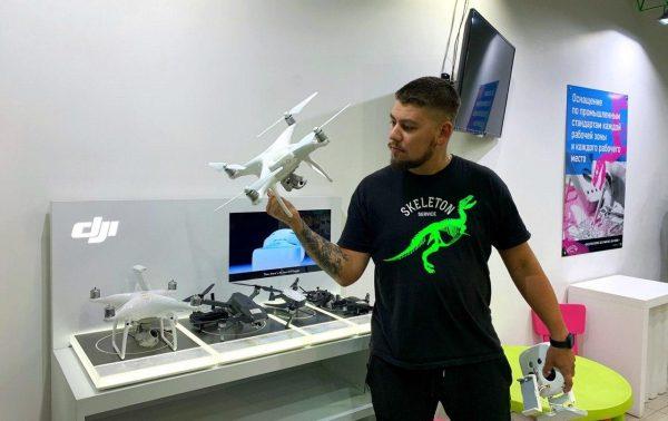 Ремонт квадрокоптеров DJI Phantom 4 Pro